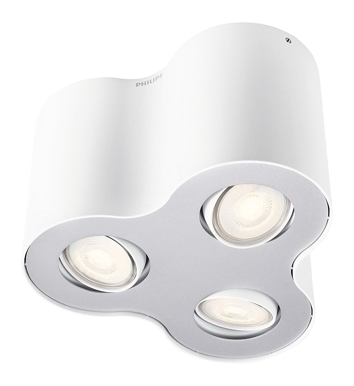 lampada da soffitto faretti led philips pillar - area illumina