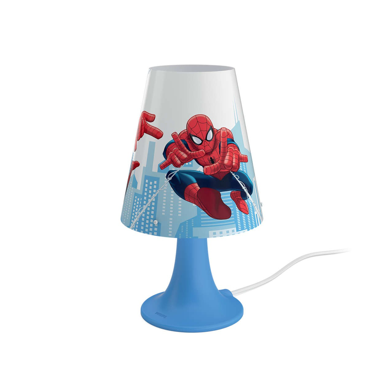 Philips Lampada da tavolo SPIDER-MAN Blu LED