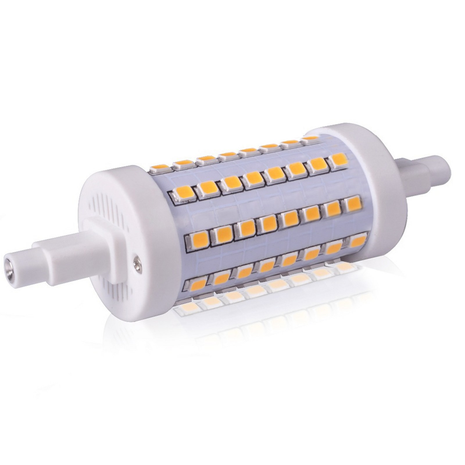 Lampada lampadina faro faretto r7s led life luce bianca for Lampade a led e 27
