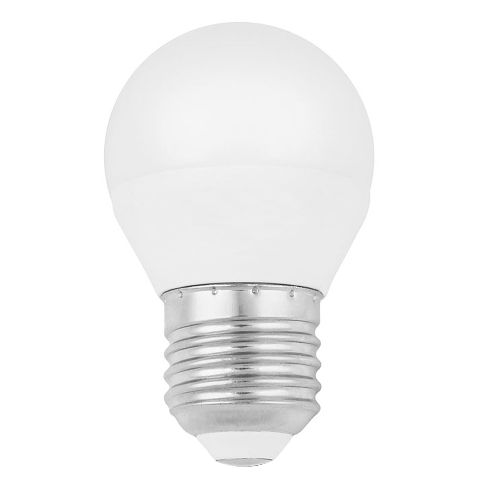 Lampada lampadina led e27 5 5 w watt mini sfera luce for Lampadina e27