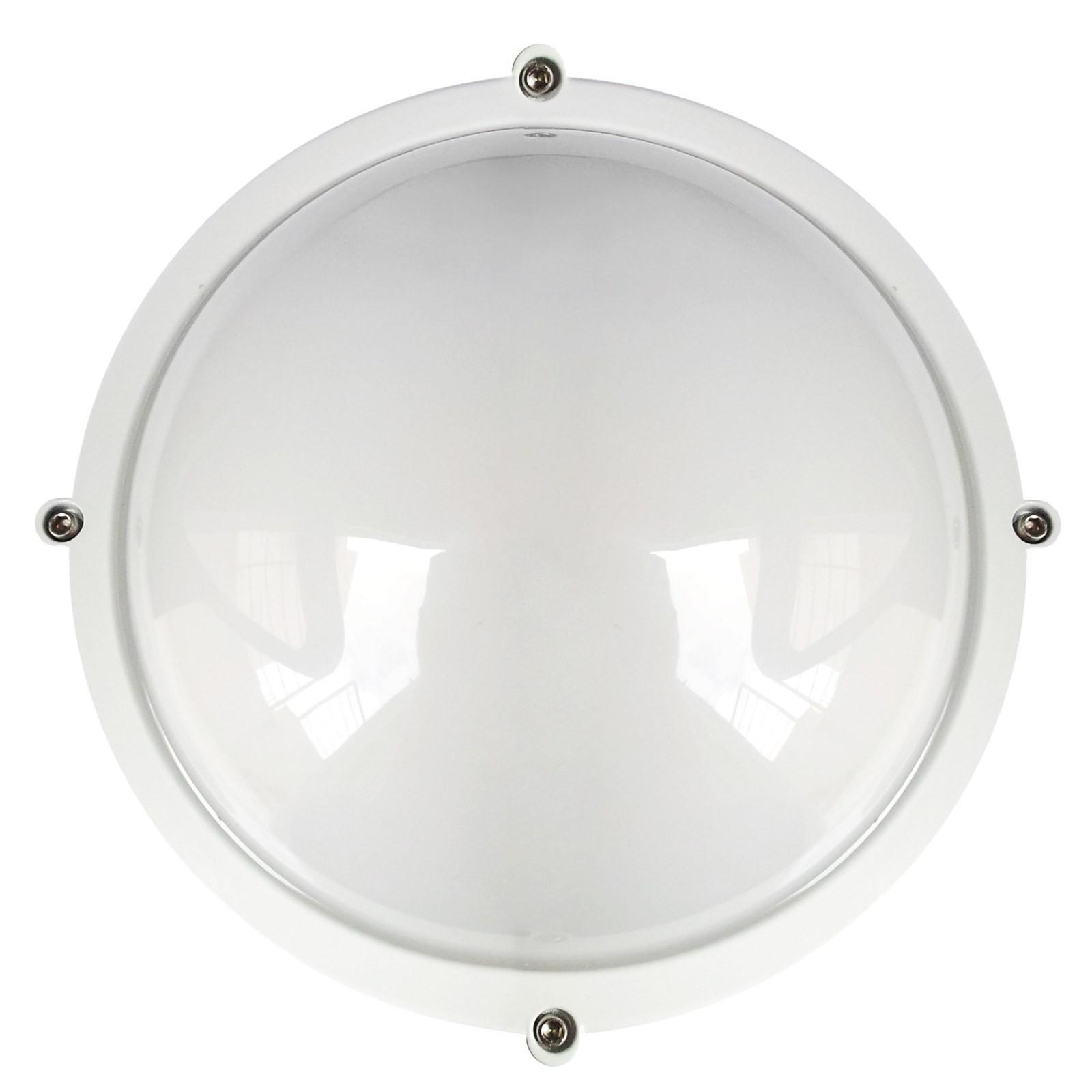 LAMPADA PLAFONIERA A LED PER ESTERNO 12 W IP65 ROTONDA LUCE NATURA NATURALE LIFE Vultech Life ...
