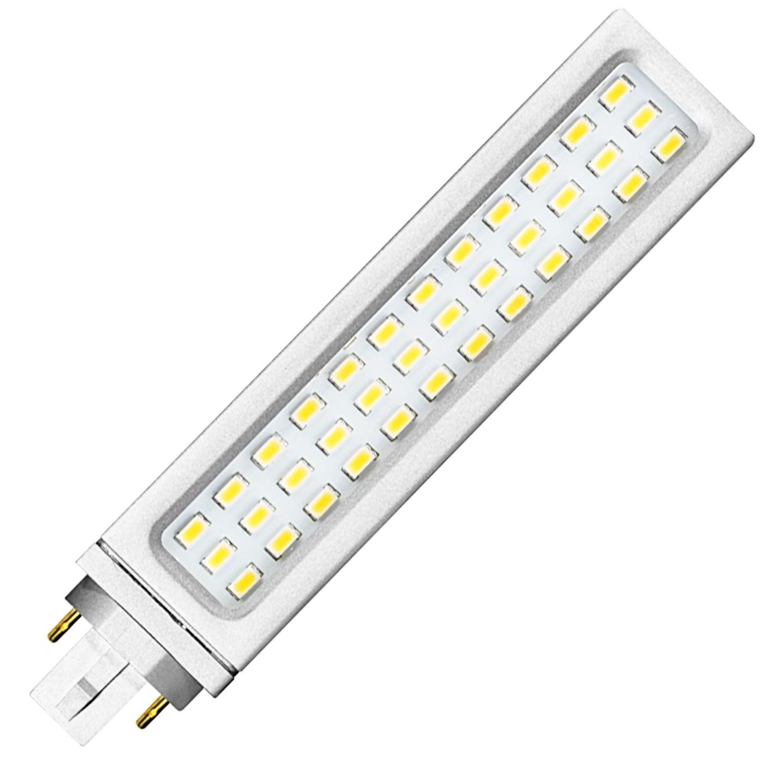 Lampada lampadina led smd 12 watt life plc luce bianca for Lampadine faretti led luce calda