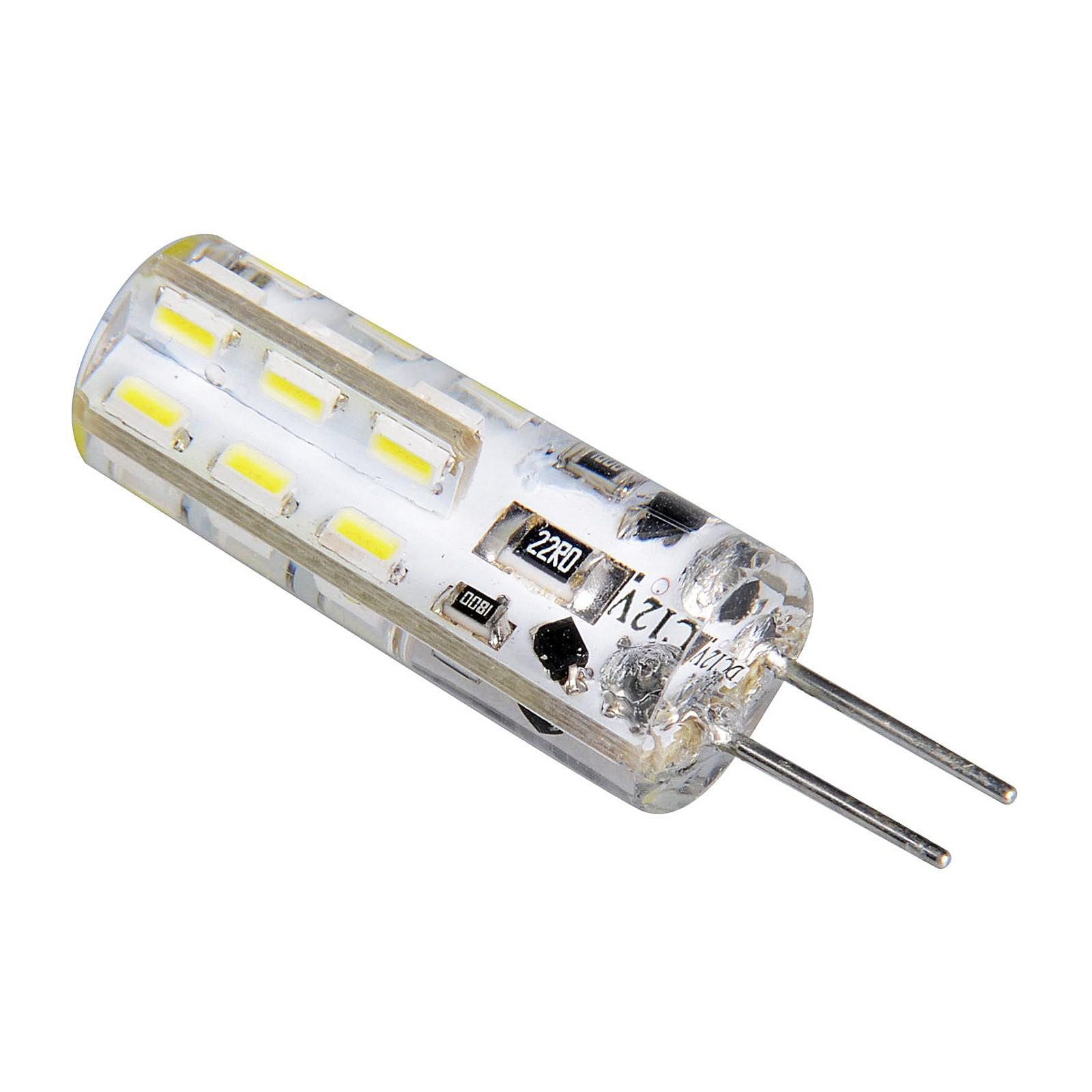 lampadina faretto led attacco g4 1 5w luce bianco caldo
