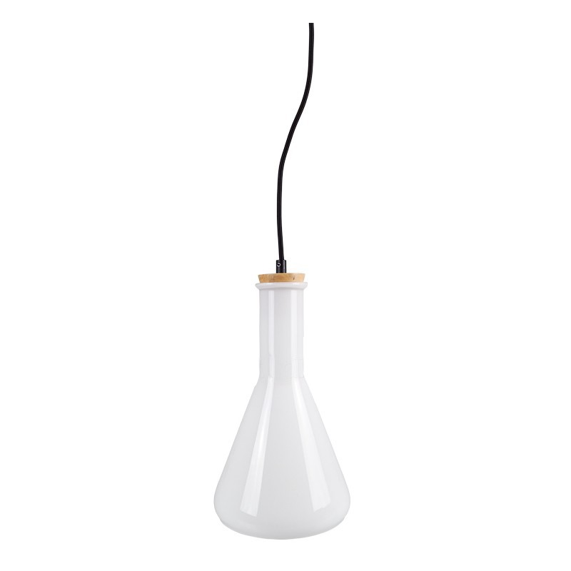 V-TAC Glass pendant light white ite