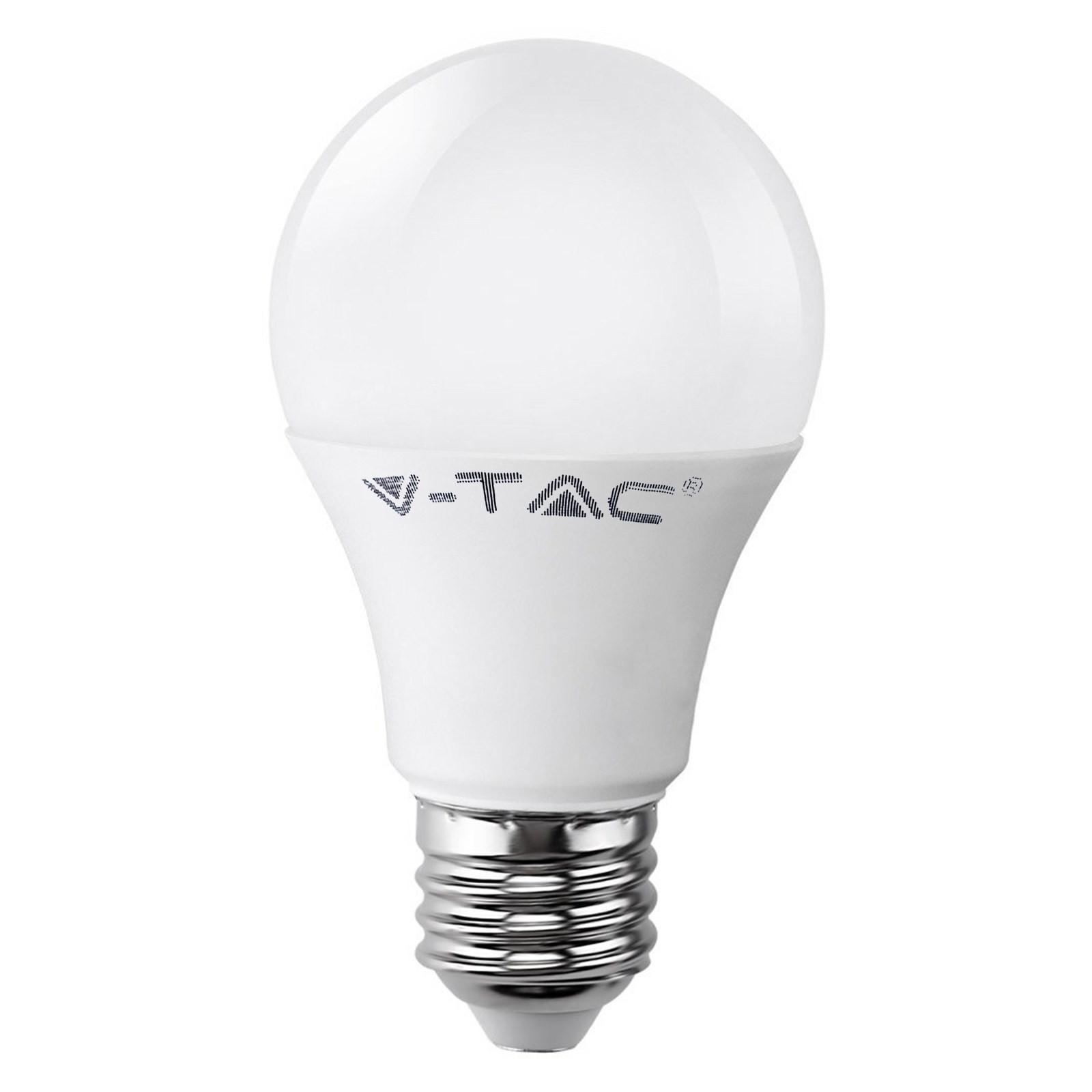 Lampadina Lampada LED Bulb V-TAC E27 VT-1853 10 Watt Luce Bianca Calda 806 Lumen