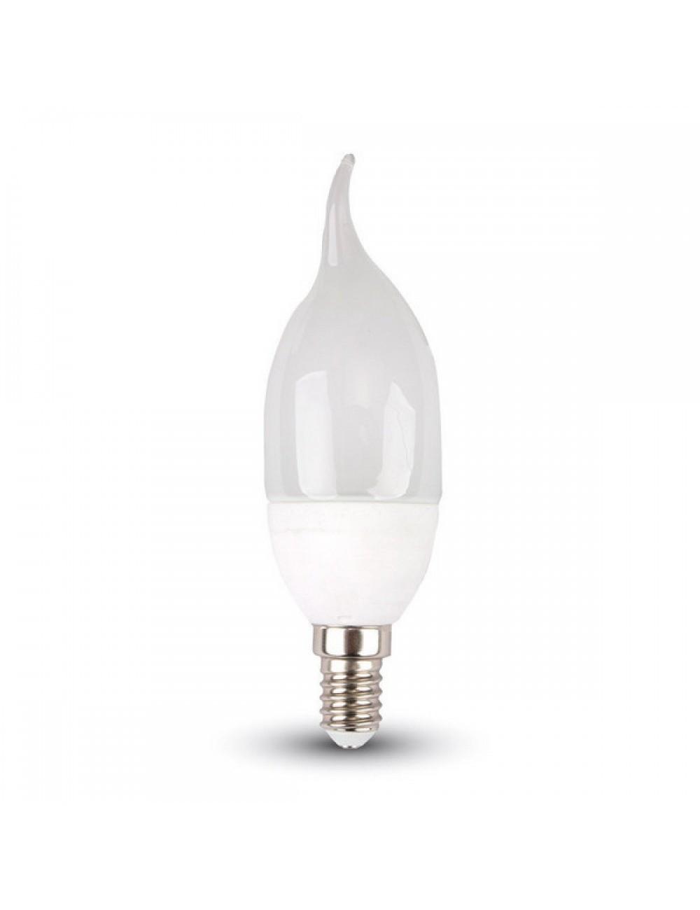 Lampadina Lampada Fiamma Led 4W Luce Bianca Fredda 2700 K Attacco E14 320 Lumen