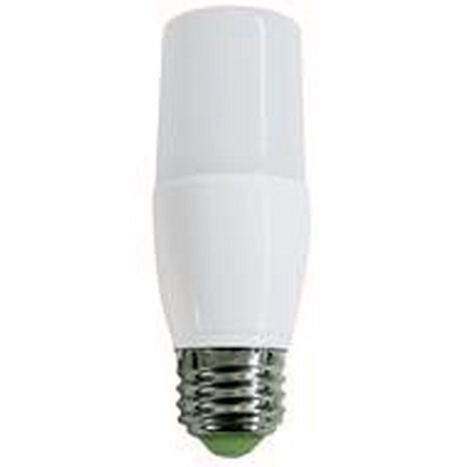 Lampadina lampada led tubolare e27 10w 6500k lm900 life for Lampada tubolare led