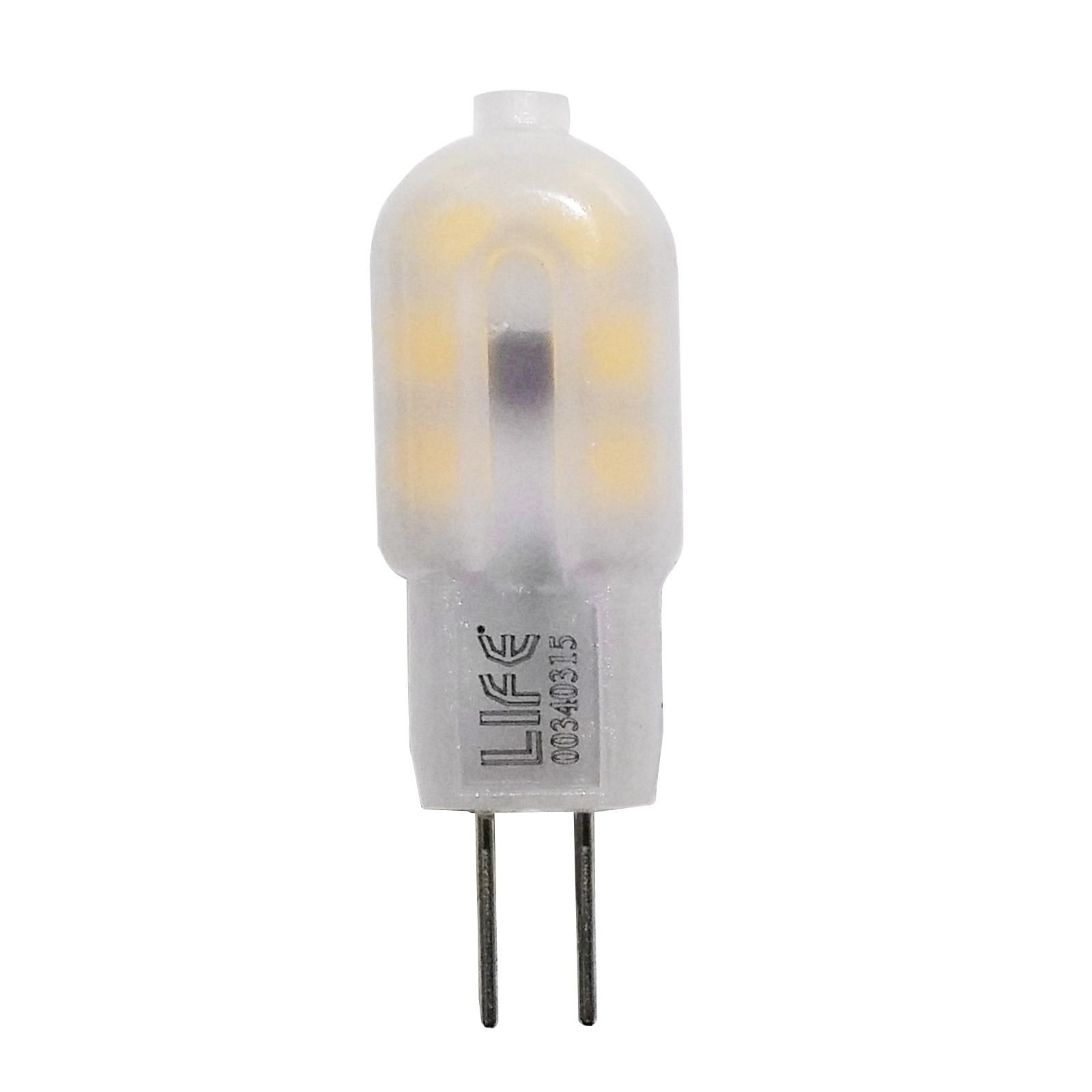 Lampada lampadina g4 1 5 w led smd luce bianco caldo per for Lampada led