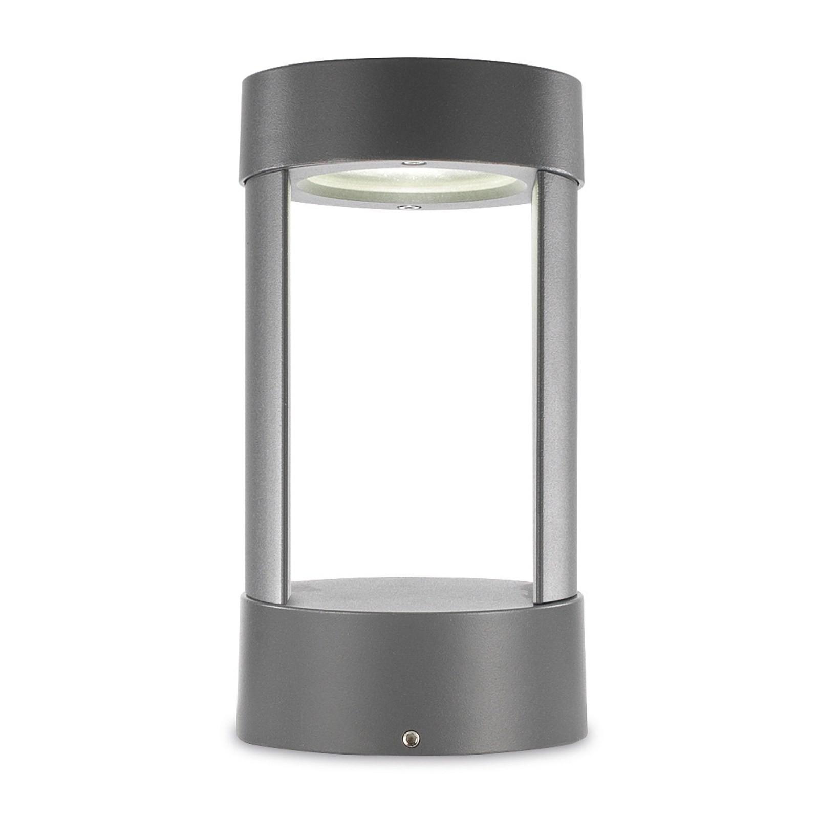 Lampione da Esterno per Giardino Lampada a Led 5W in Alluminio PAN ...