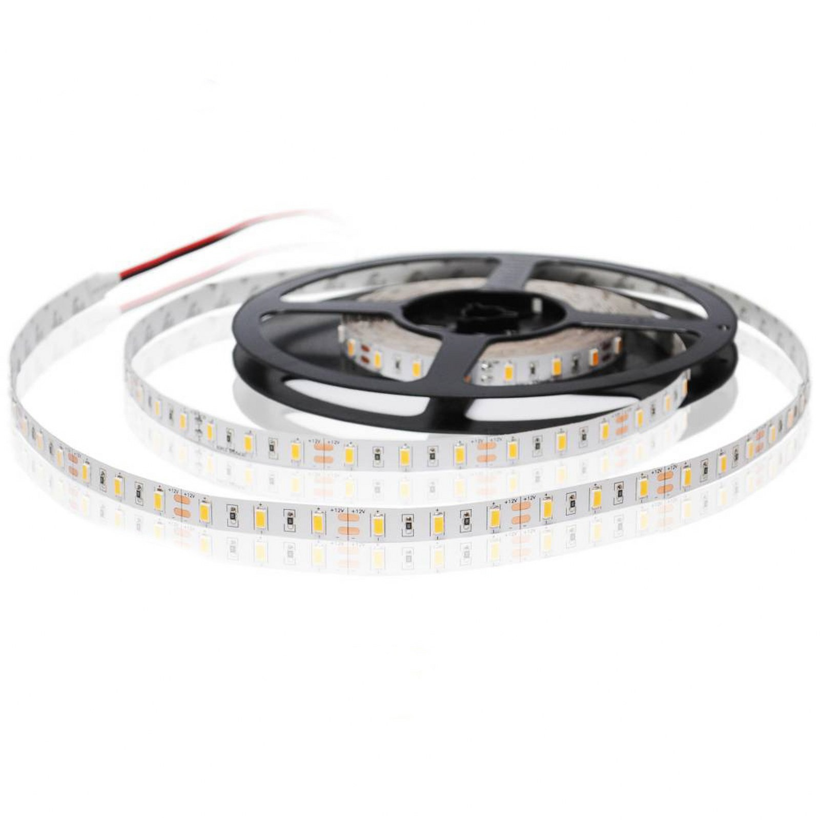 Striscia 300 led smd 3528 5 mt bobina v tac luce bianca for Luce bianca led