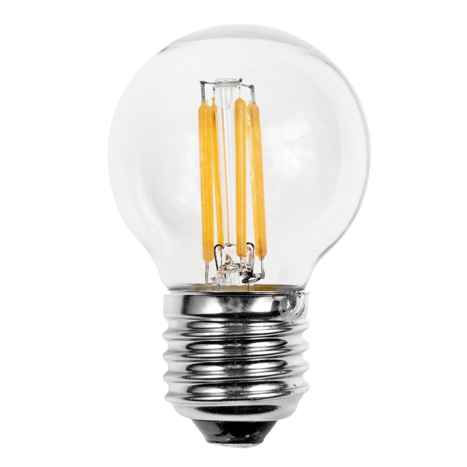 Lampada led lampadina filamento attacco e27 light 4 watt for Lampada led lunga