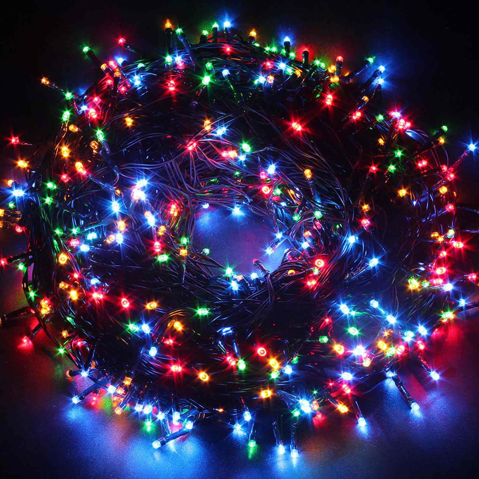 Illuminazione led albero di natale