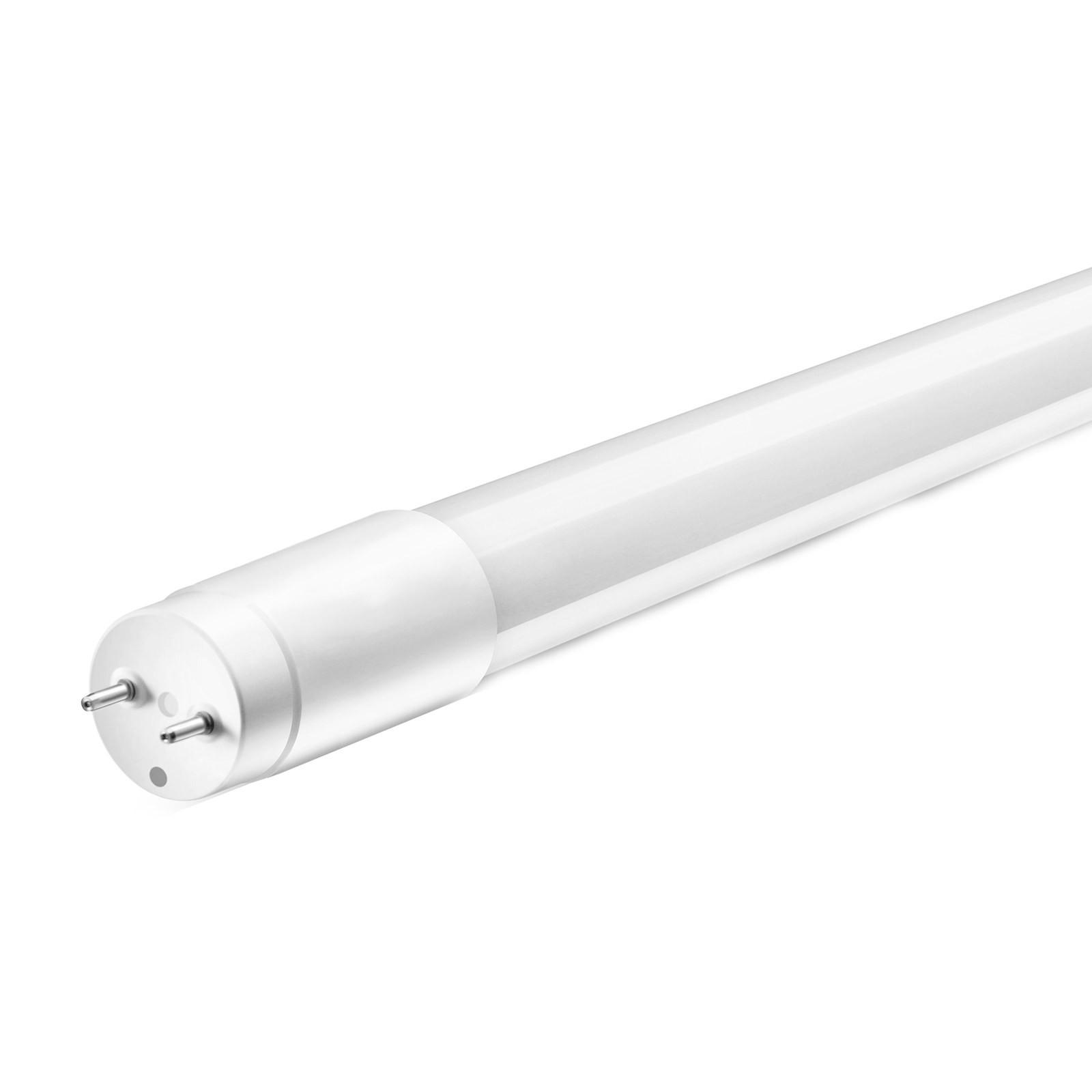 Neon tubo led smd t8 luce bianca fredda 120cm life 18 watt for Luce bianca led