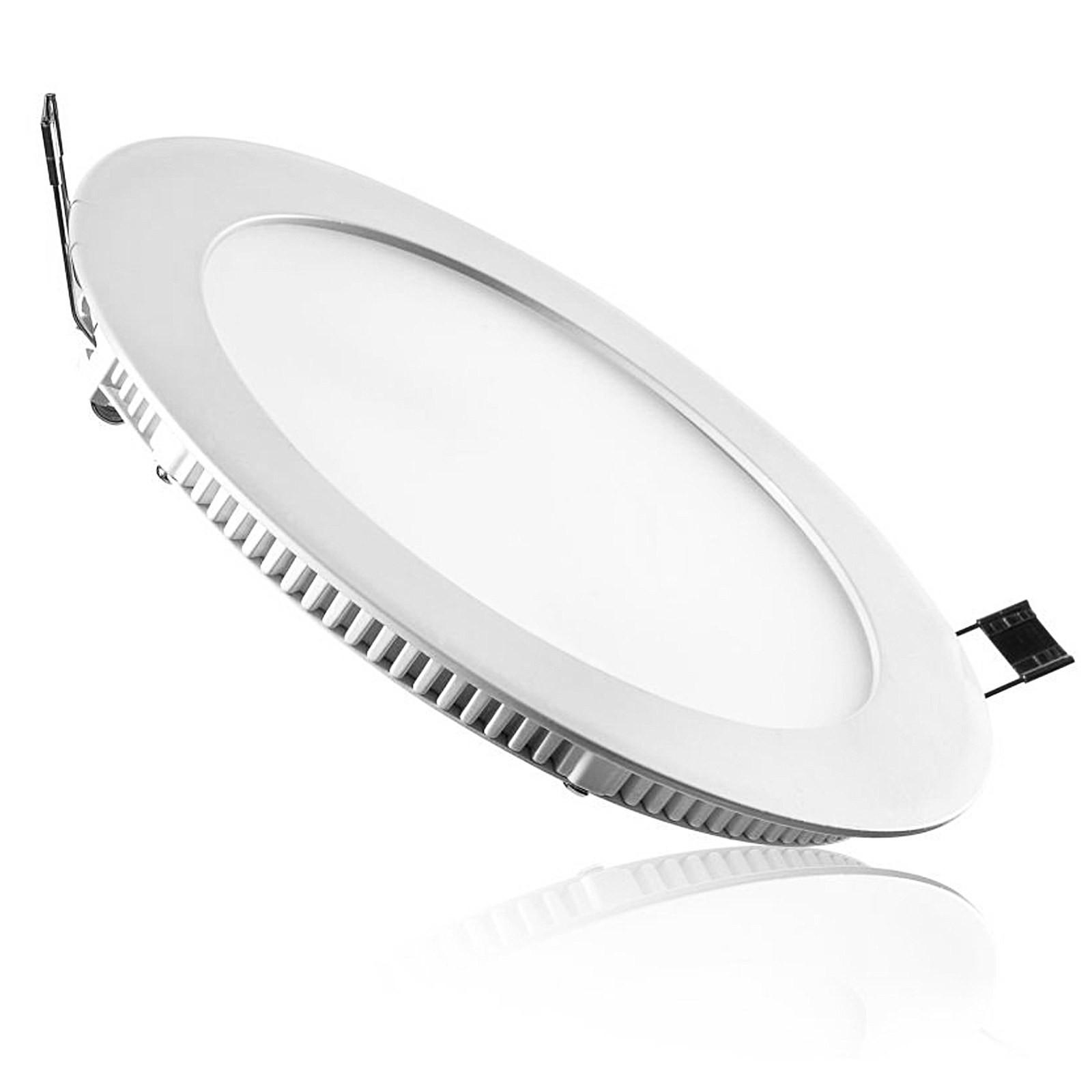 Faro faretto pannello led luce bianca fredda 20 watt for Luce bianca led