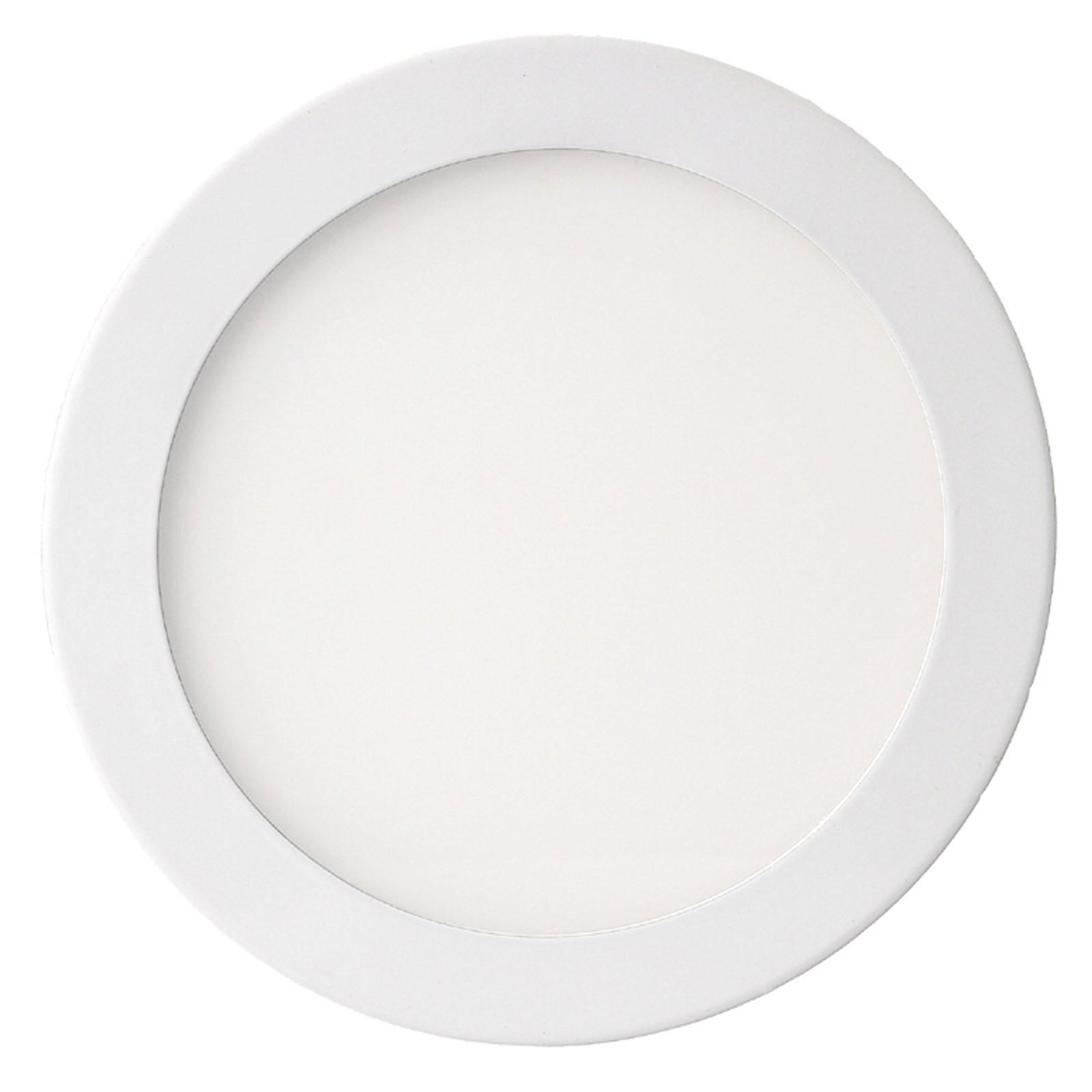 Pannello led 1500 lmn 18w luce bianca naturale 4000k v tac for Luce bianca led