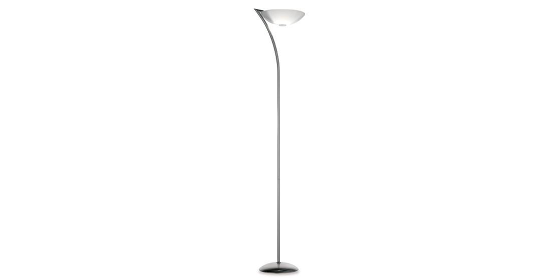 PAN NIGHT LAMPADA TERRA E27 20W ACCIAIO SPAZZOLATO