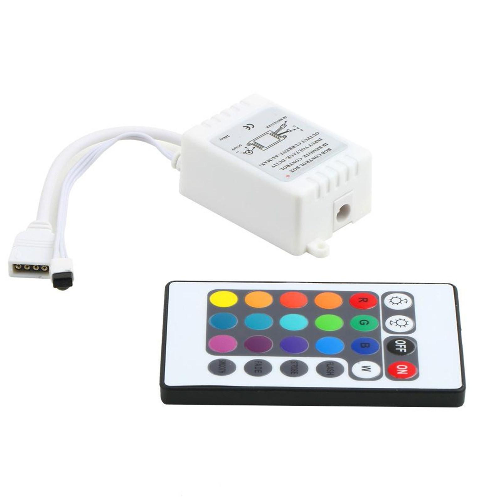 Telecomando controller per striscia a led rgb multicolore for Striscia led rgb