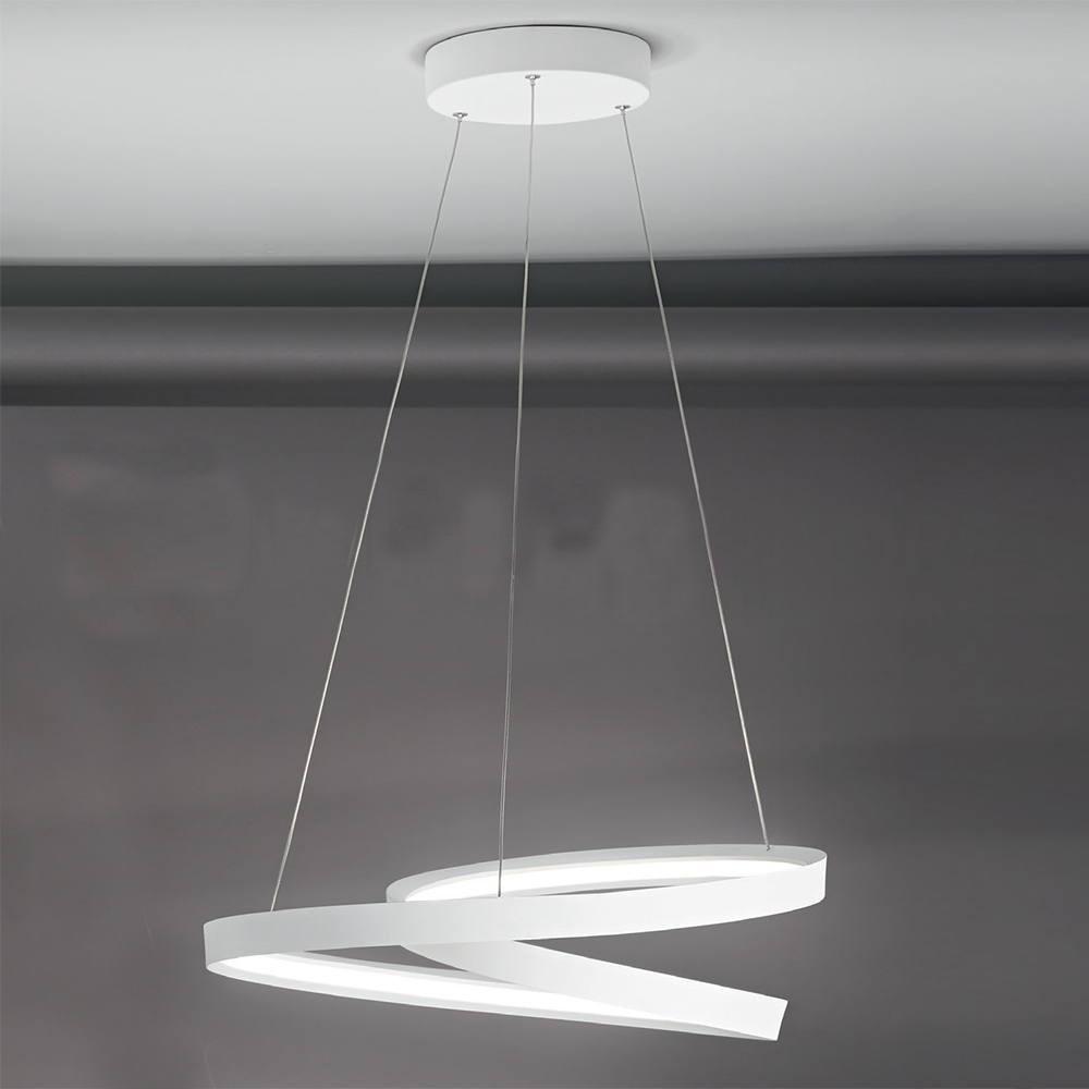 PERENZ RITMO Lampada a Sospensione Cerchi Luminosi a LED Design Moderno