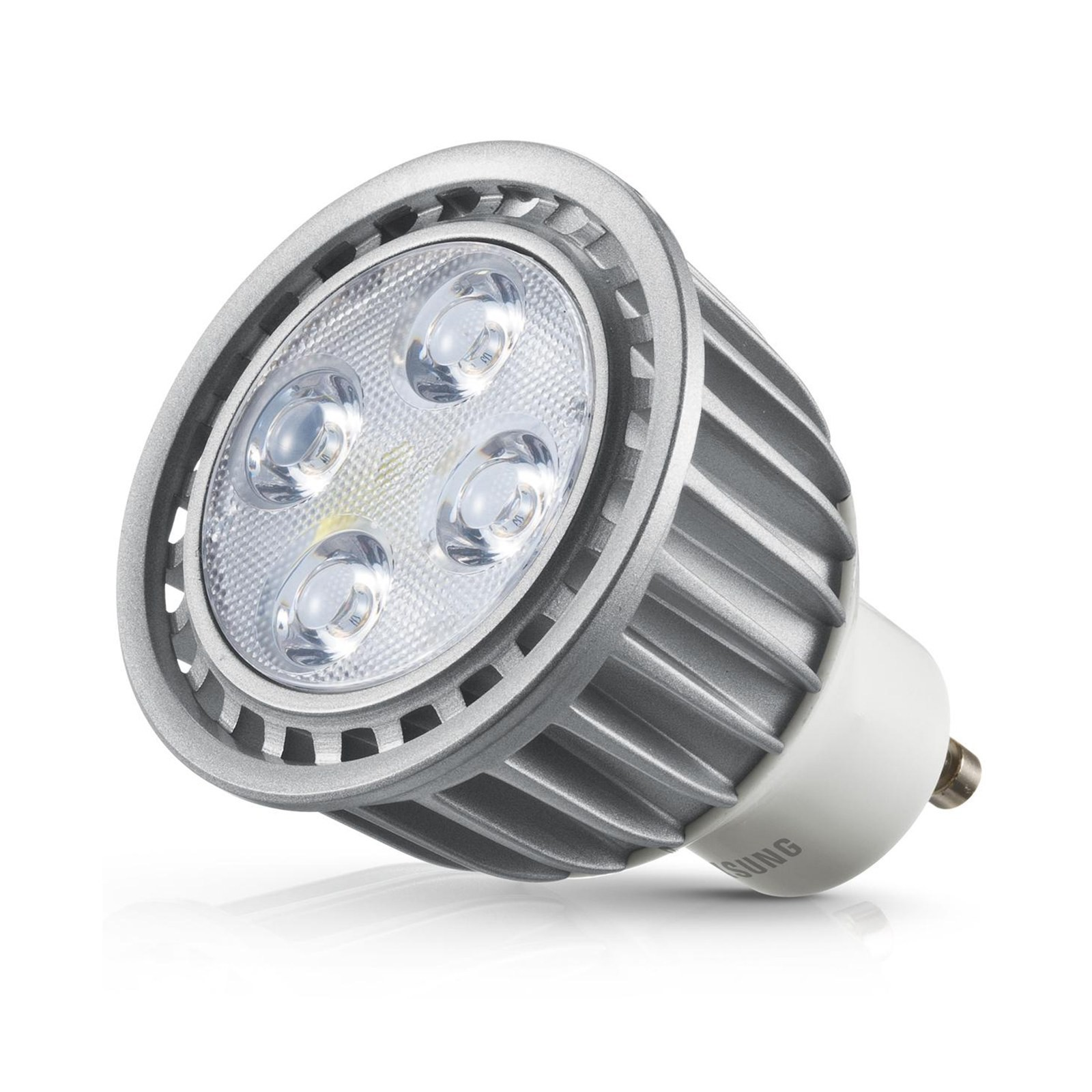 lampada lampadina faretto a led par16 attacco gu10 7 7 watt samsung luce calda area illumina. Black Bedroom Furniture Sets. Home Design Ideas