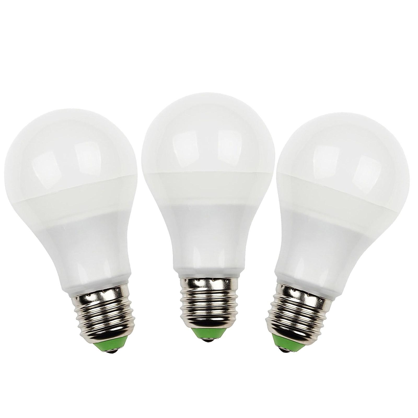 3 pz lampade lampada lampadine a led luce calda attacco
