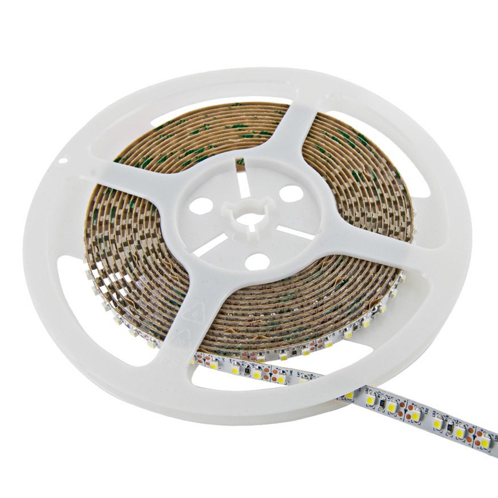 Striscia 600 led strip bobina smd 3528 5 metri v tac luce for Luce bianca led