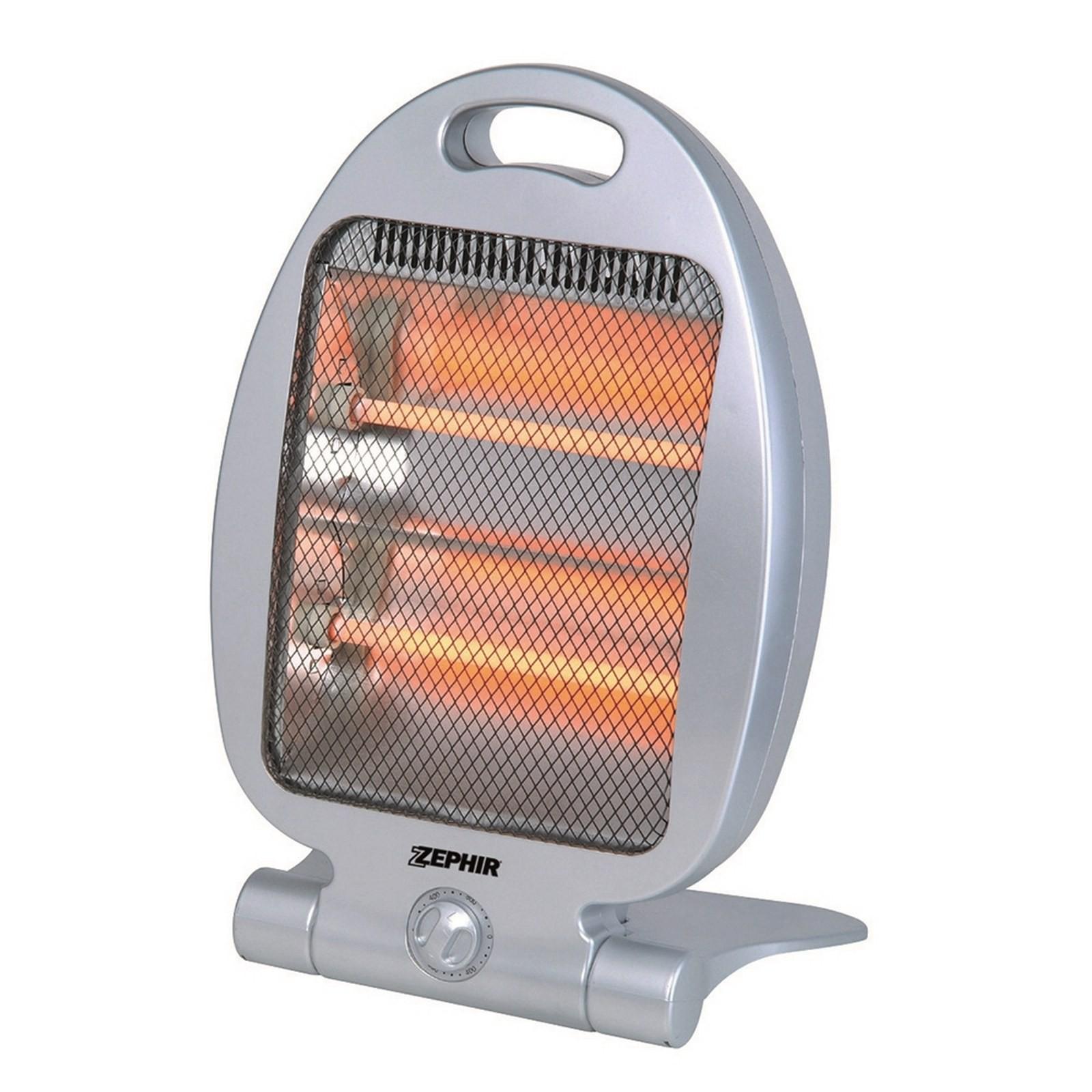 Stufa elettrica stufetta alogena riscaldamento caldobagno al quarzo 800w area illumina - Stufe a olio elettriche ...