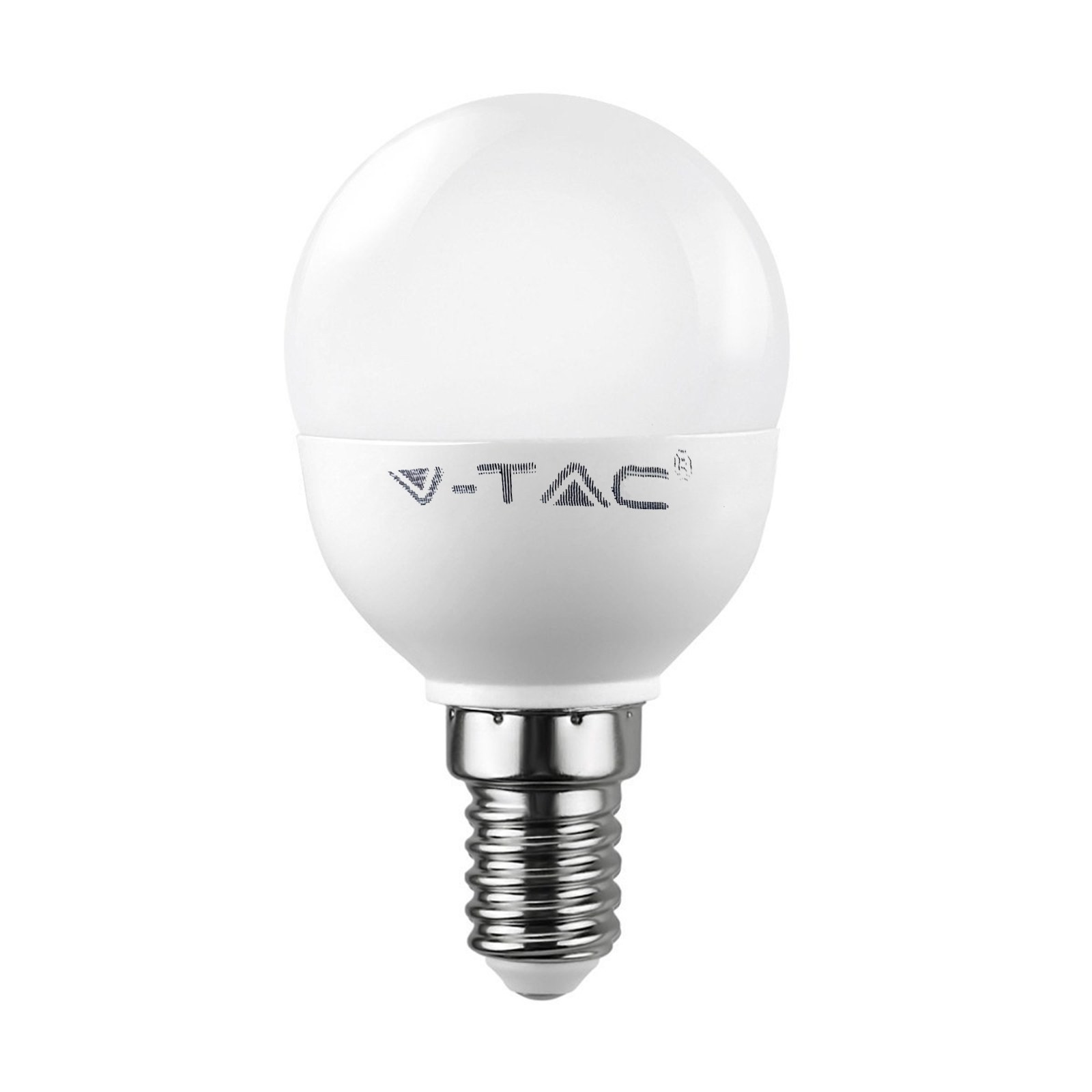 lampada lampadina e14 led smd v tac vt 1880 miniglobo p45 On lampade led 6 watt