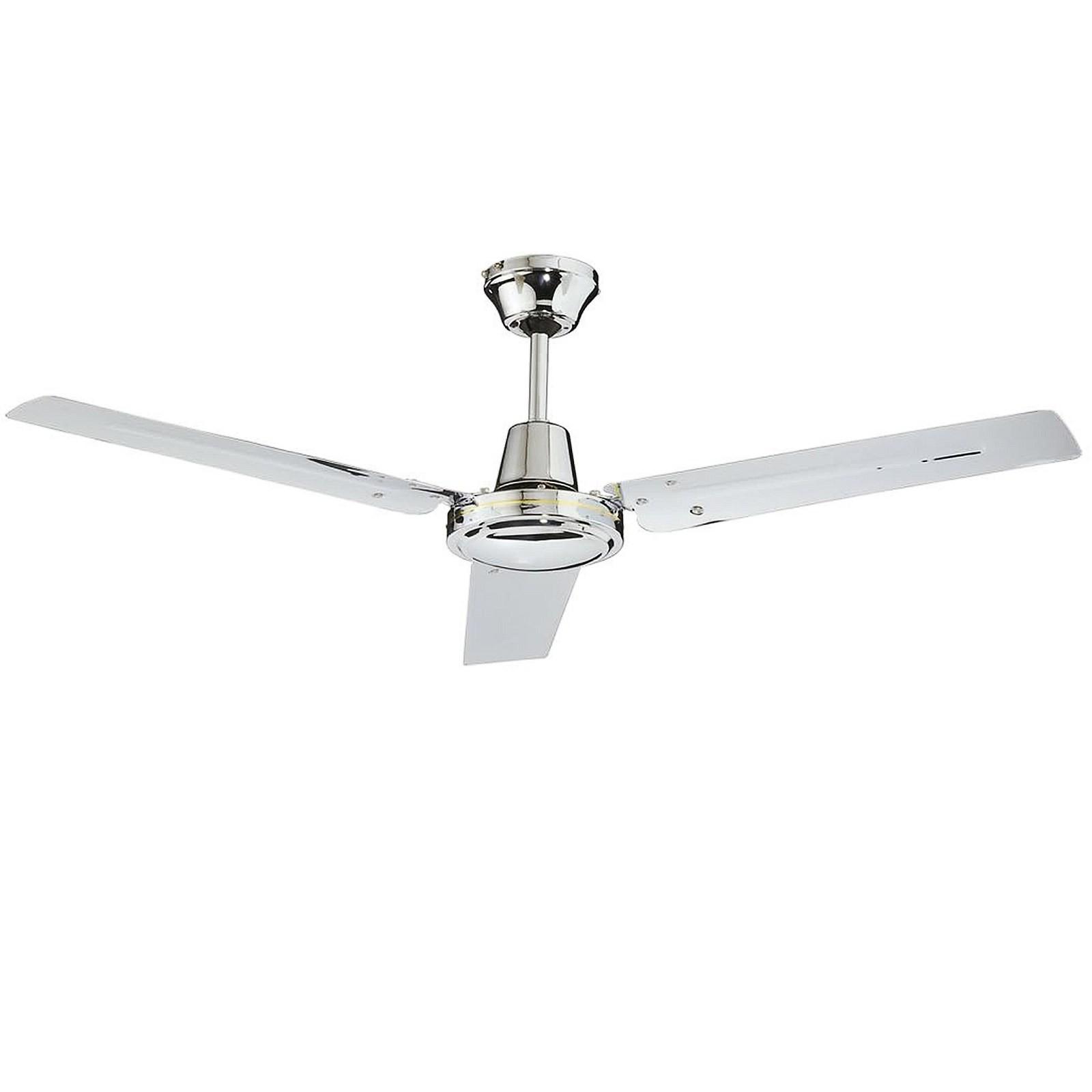 Ventilatore da parete soffitto telecomando luce lampada cfg 3 pale in metallo area illumina - Pale da soffitto design ...