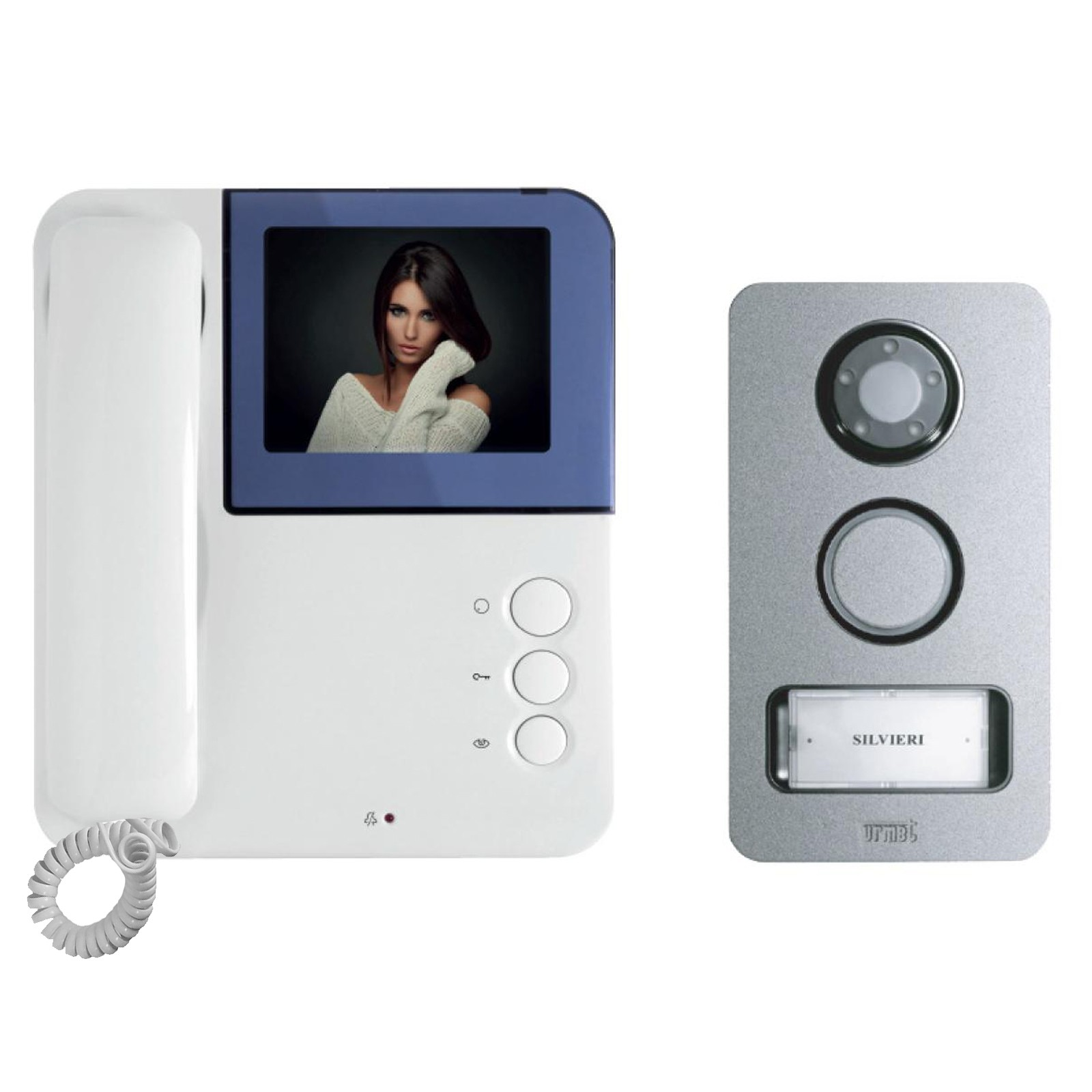 kit videocitofono urmet simply mikra video monitor colori
