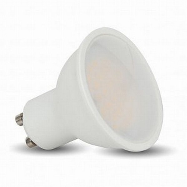Lampadina led gu10 7w v tac vt 2887 dimmerabile 3000k 500 for Lampadina gu10