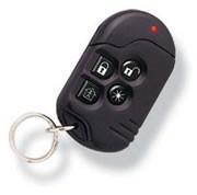 Mini trasmettitore quadricanale POWERCODE CODE SECURE con segnale batteria scarica