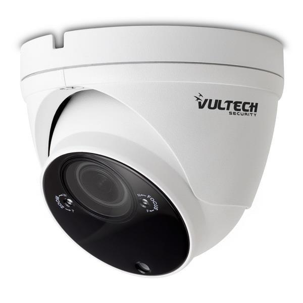 "Vultech Telecamera UVC 4in1 Dome 1/2,7"" 2 Mpx 1080p 2.8-12mm varifocale 40Pcs"