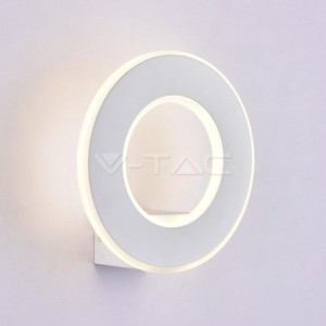 V-TAC Applique 9W LED Bianco 4000K 990lm