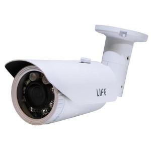LIFE Telecamera 4in1 AHD/CVI/TVI/CVBS 1080p IP65 L2.8-12mm