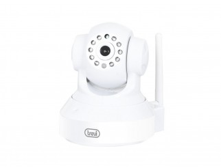 Telecamera da interno HD IP Trevi Wifi Video sorveglianza Wireless Motorizzata