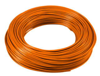 Cavo 1x1mm N07V-K Unipolare Matassa Arancione