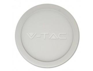 V-TAC 6w pannello led montato superficie premium rotondo bianco freddo 6000k