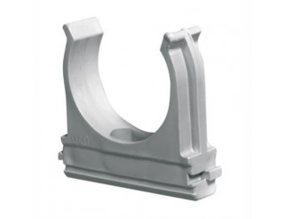 Fissatubo clips grigio d.20 OLAN