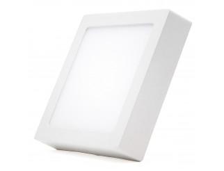 Faretto Pannello 6W luce fredda senza incasso quadrato
