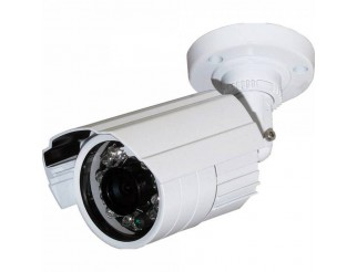TELECAMERA CCD 24 LED IR 3,6MM COLOR GIORNO NOTTE 600 LINEE TVL BNC INFRAROSSI