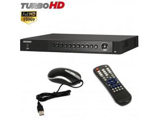Dvr 4 Ch Canali Videosorveglianza HIKVISION Turbo HD FULL 1080P H264 DS-7204HQHI