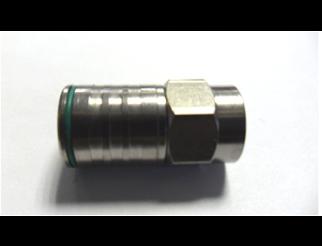 Connettore F maschio quick a innesto rapido 5mm FMC
