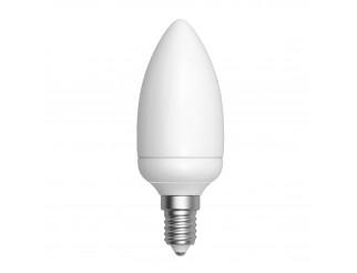 Lampada Led Lampadina Attacco E14 Luce Bianca Calda Candela LIGHT 5W 450 Lumen