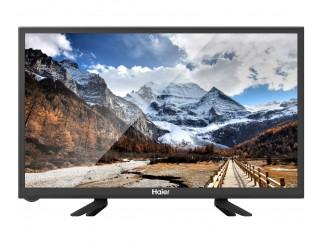 """Televisore Tv Haier 24"""" pollici HD Nero LED Schermo Piatto"""
