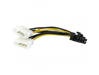 Cavo Cavetto PC Alimentazione VULTECH Molex To Pci-Express 8 Pin (6+2) SC10963