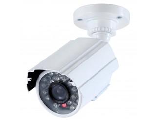 Telecamera Infrarossi IR Videosorveglianza LED 3.6mm IP 66 Bianca LIFE 800 Linee