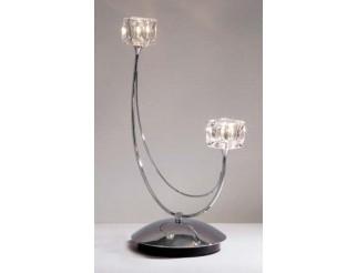 Lampada da tavolo 2 luci Vertigo Exclusive light