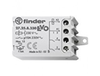 RELE'AD IMPULSI FINDER IP20 INTERRUTTORE DIFFERENZIALE 10A-230V 27.21.8.230.0000