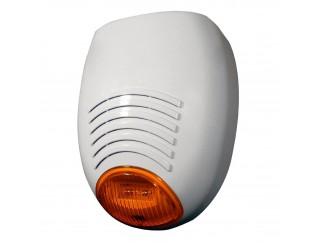 Sirena Esterna per Allarme Autoalimentata Lampeggiante AMC ELETTRONICA SR136