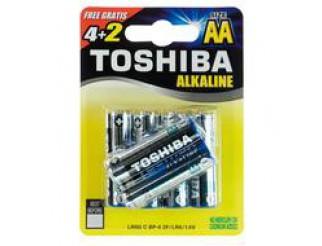 LR6 B6 STILO ALKALINA TOSHIBA AA